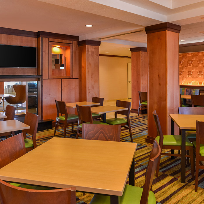Fairfield Inn, Marriott, Santa Maria, California, breakfast